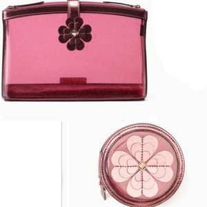 New Kate Spade Sabine Cosmetic Cases